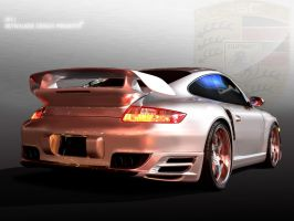 Skywalker Design Porsche Toon by skywalkerbatuhan