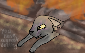 Yellowfang's Death by tai-fire-cat