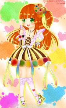 ~ All her colors ~ by FlyingCatsandGlitter