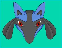 I am Lucario by OneLoveDrew