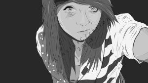 Vector Portrait 02 by 25clad35