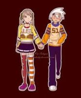 Maka and Soul Strange feelings by darksidermonents