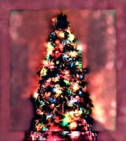 Bokeh Christmas Tree by bewilderedconfused