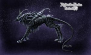 Nightwalker AUCTION-Adoptable by AmorpheusArt