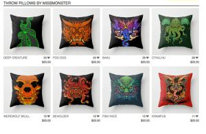 Pillows on sale by missmonster