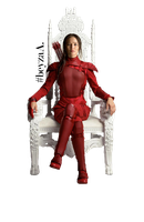 Katniss Everdeen PNG by b-e-y-z-a