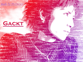 Gackt 2 Typography by MiAmoure