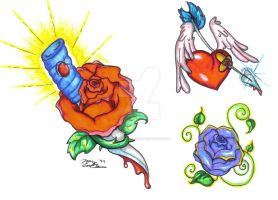 Traditional Rose Flash by SuperSibataru