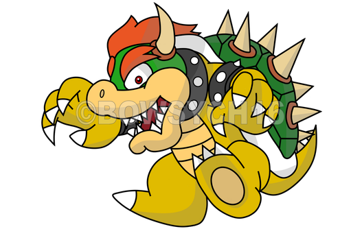 [Bowser] Jumping by BowsyCh16