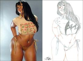 VANESSA REPRESENTIN' AB SIDE2SIDE 1 by Artistik-Bootya
