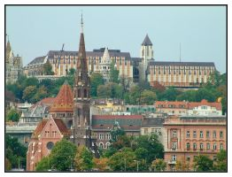 Buda from Pest by evaPM