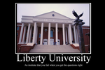 Liberty University Demotivator by Party9999999