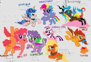 MLP: The next generation by raggyrabbit94