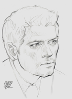 Castiel by Blakravell