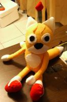 Tails Doll Plush by IrashiRyuu