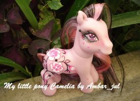 My little pony Camelia by AmbarJulieta