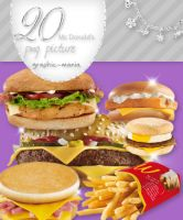 McDonald's png pack by Graphic-Mania