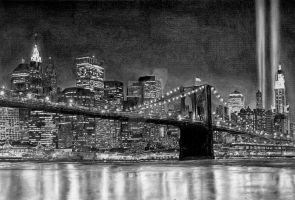 the brooklyn bridge by aramismarron