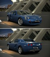 Hommell Berlinette R/S Coupe '99 by GT6-Garage