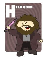 H is for Hagrid by jksketch