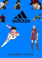 super campeones adidas by anime-nse