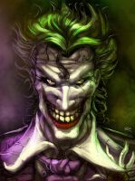 Faces of Gotham: Joker by digitalninja