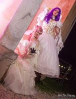 Euphemia and Cornelia - Viceroys of the Area 11 by Thesan13