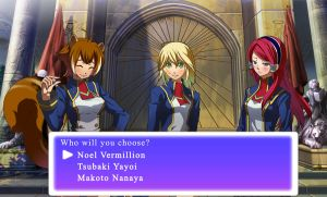 BlazBlue dating sim screenshot by stevemacqwark
