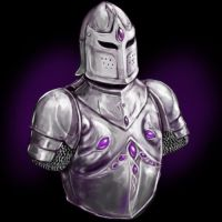 Amethyst Inlaid Armour by dashinvaine