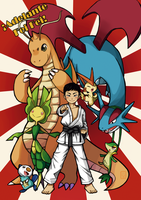 Commission: PKMN Team FeiFei! by MaggieSoup