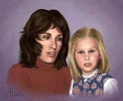 Mother and Daughter by bugsandbears
