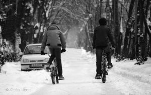 Winter ride by my-eyes-your-windows