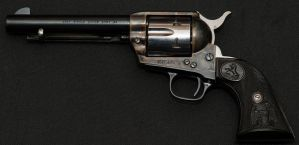 Colt Single Action Army - 3rd Generation 45LC by PLutonius