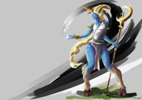 Lol - Soraka Faun by nfouque
