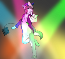 rave id commish by darklunawerewol1