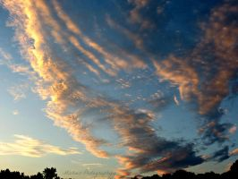 Clouds in the Sunset by Michies-Photographyy