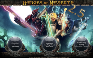Heroes of Newerth 2.5 Patch by Moonymage