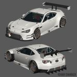 Toyota GT86 FIA-GT3 WIP2 by The-IC