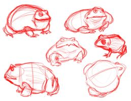 Pixie Frogs by TR-the-Animator
