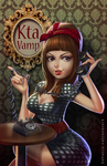 Kta Vamp commissioned portrait by thezork