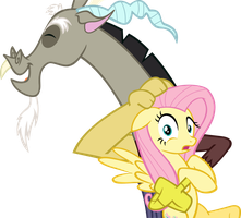 Fluttershy breaking the 4th wall by PonyEffectRus
