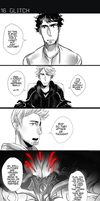 GLITCH ch2: Infected pg16 by Ozumii