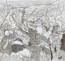 Battle of Cilfach by Shabazik