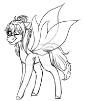 Glass Changeling Zekira WIP by Underdise