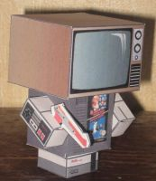 NESboy Cubee by paperart