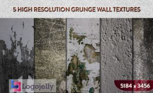 Free Grunge Wall Texture High resolution by logojelly