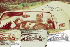 vintage action + PSD by NOSHAAlHEWAISHEL