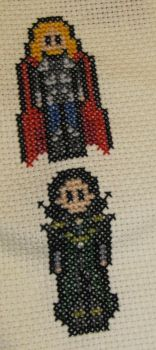 Thor and Loki Bookmark by DawnMLC