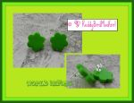 Simply Green Earrings by ReddyBirdMadGirl