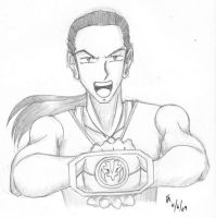 MMPR Anime Style - Tommy by mayorlight